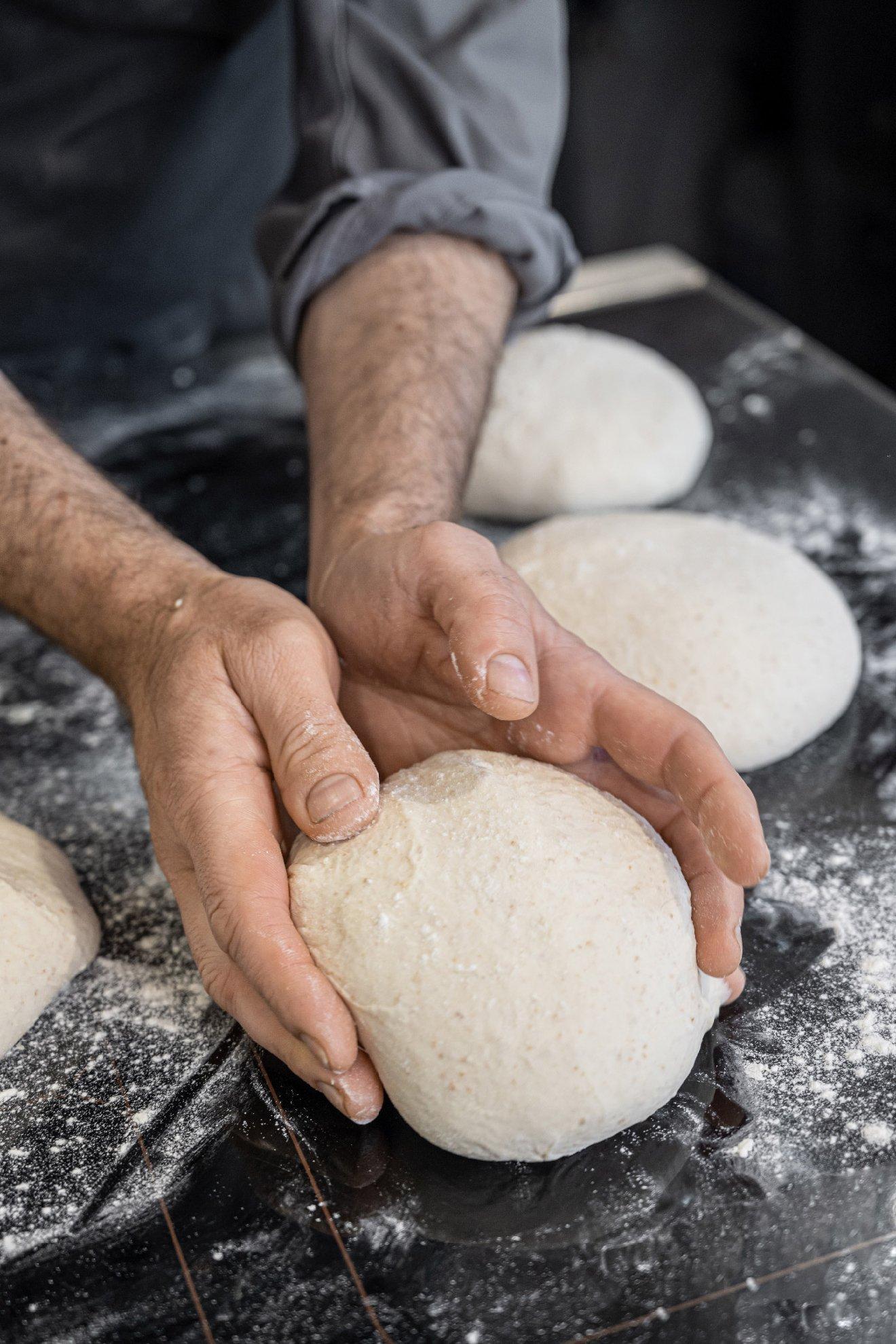 L'impasto del pane